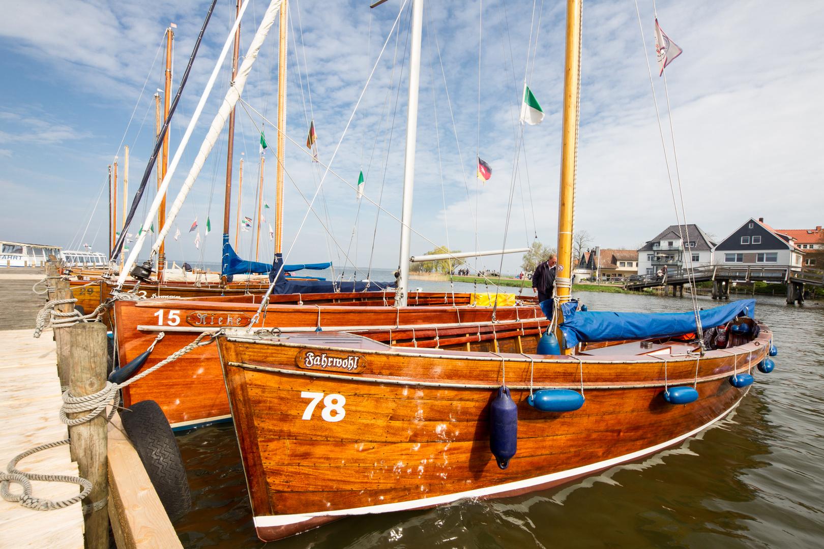 Aussiedler Boote am Steinhuder Meer