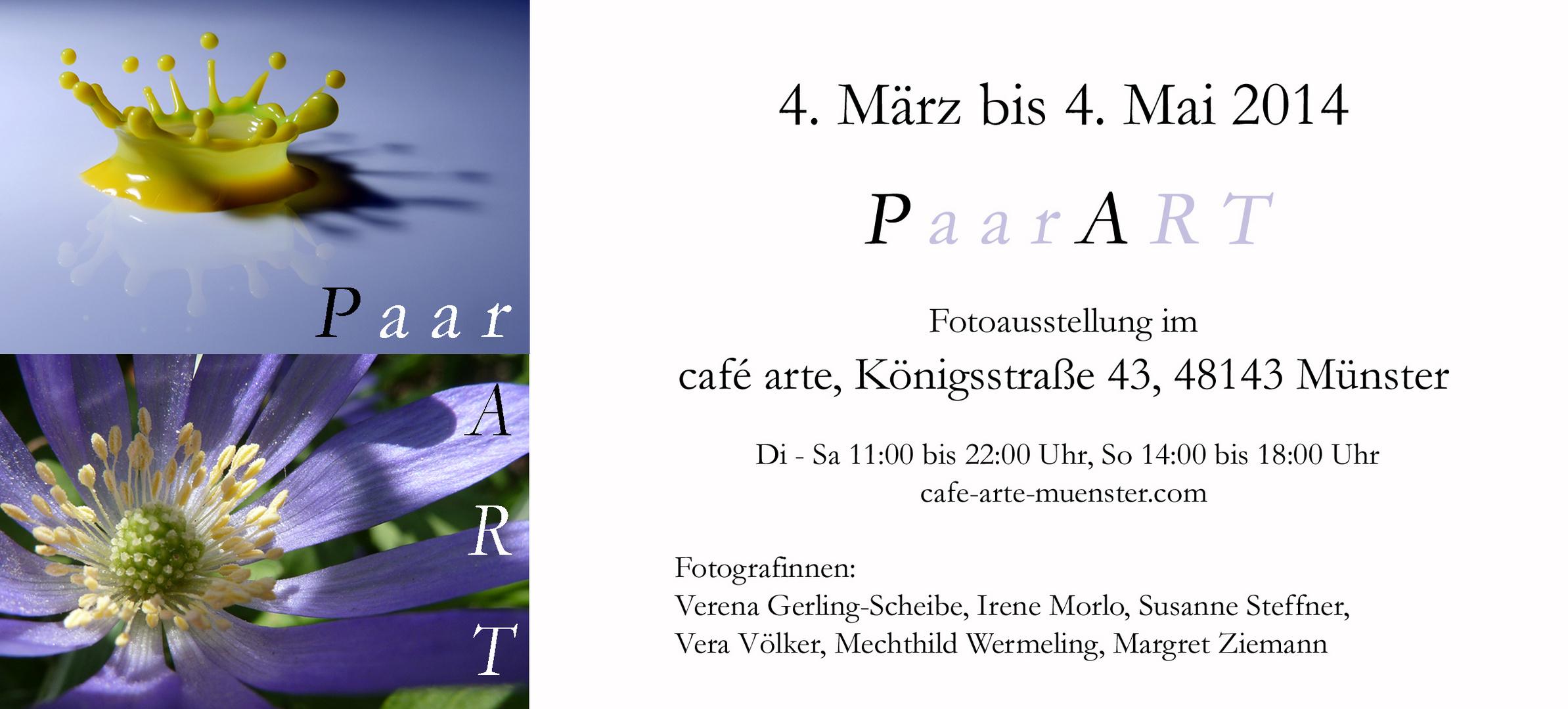 Ausstellung Cafe Arte in Münster