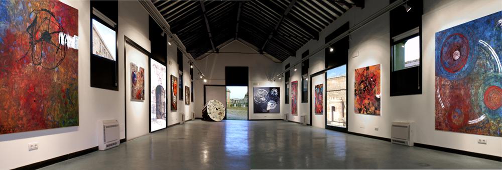 "Ausstellung ""CIRCULOS"" Sala de eventos (Gesamtansicht)"