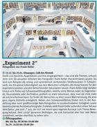 """Ausstellung """"Experiment 2"""" - Ars vivendi - Ellwangen"""