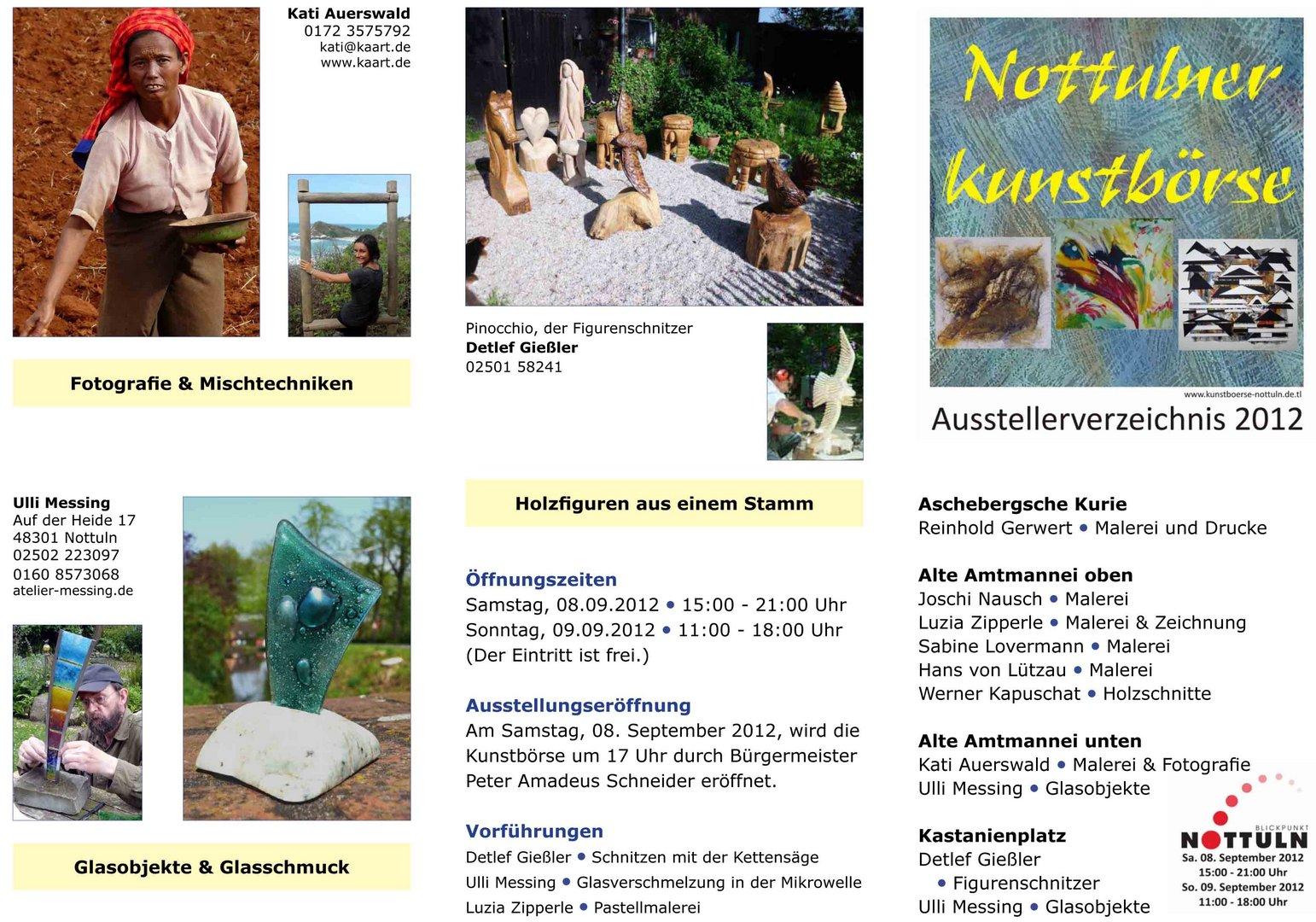 Ausstellung Flyer