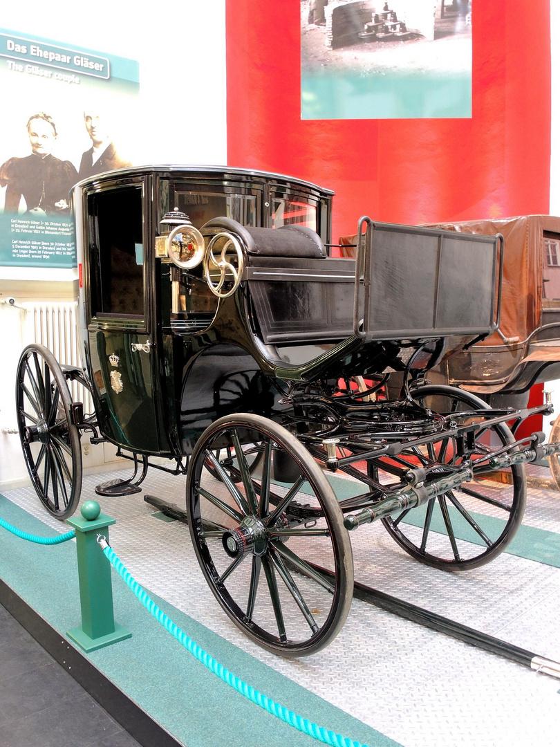 Ausstellung im Dresdner Verkehrsmuseum
