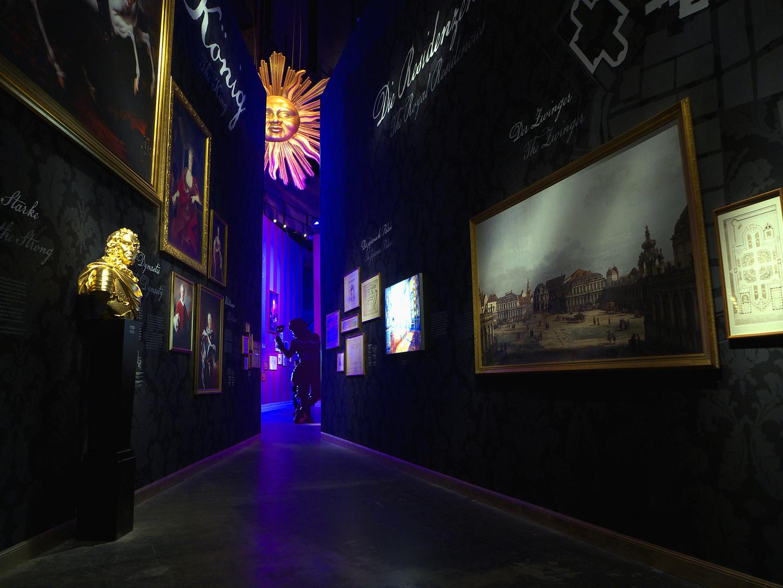 Ausstellung im Panometer in Dresden