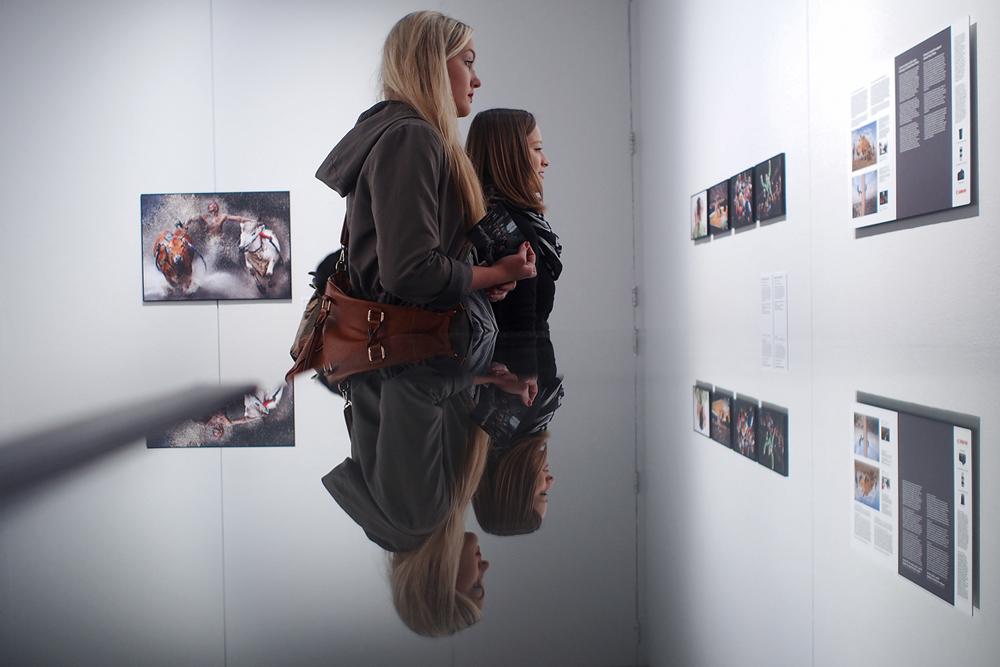 Ausstellungsbesucherinnen