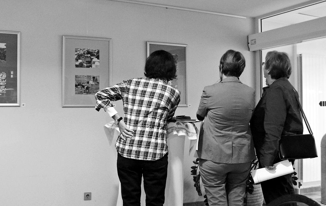 Ausstellungsgäste