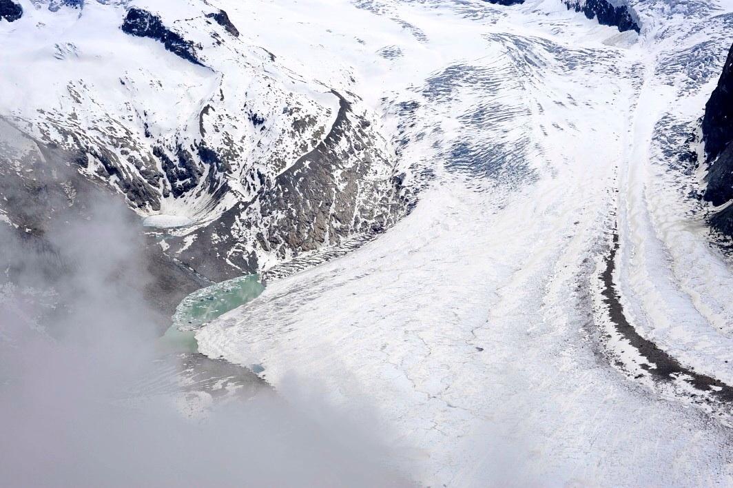 Aussterben des Gletschers...