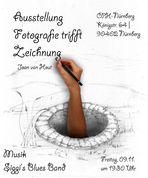 """Austellung """"Fotografie trifft Zeichnung"""