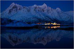 Austernes Fjord - Blaue Stunde