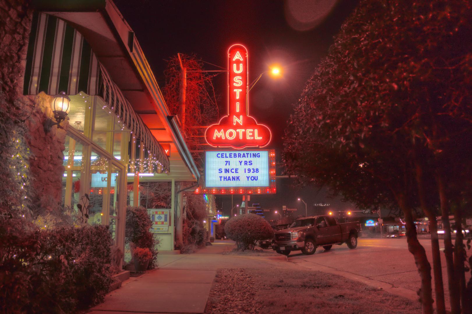 Austin Motel, Austin, Texas, USA