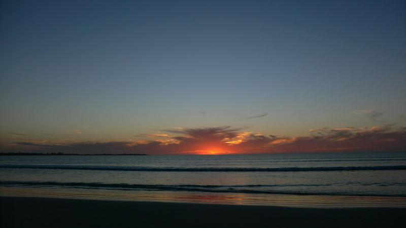 Australia, Adelaide, Robe - Beach Road.