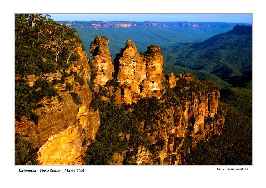 Australia Katoomba Three Sisters