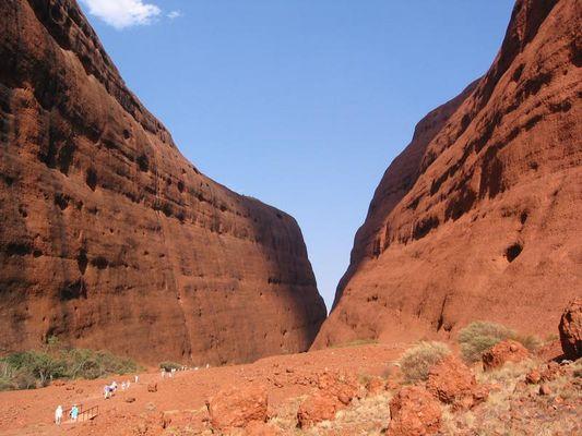 Australien 2002; durchs Outback