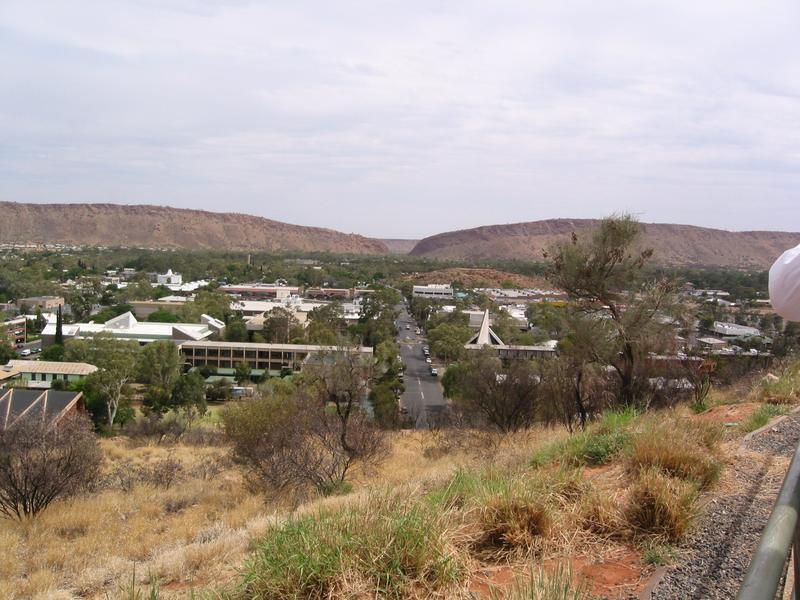 Australien 2002; durchs Outback nach Alice Springes