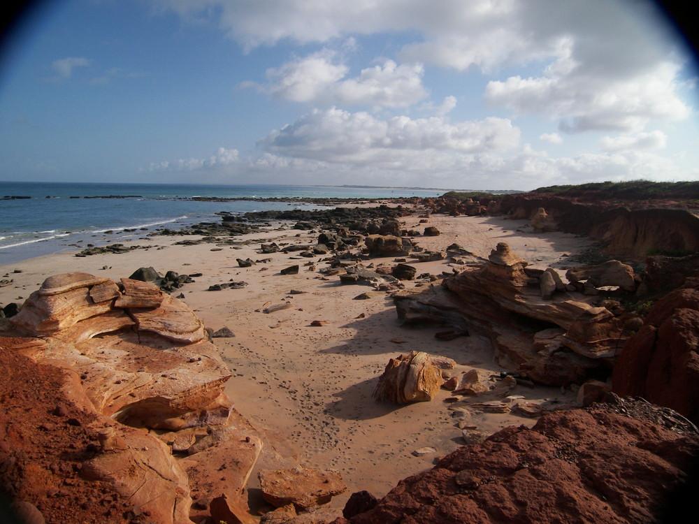 Australien bei Ebbe