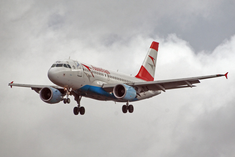 Austrian Airlines Airbus A319-112 (OE-LDC)