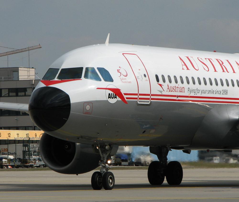 Austrian Airlines Airbus A320-2 OE-LBP