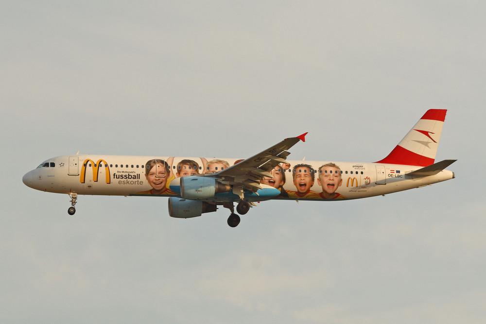 Austrian Airlines Airbus A321-211 (OE-LBC) - 2