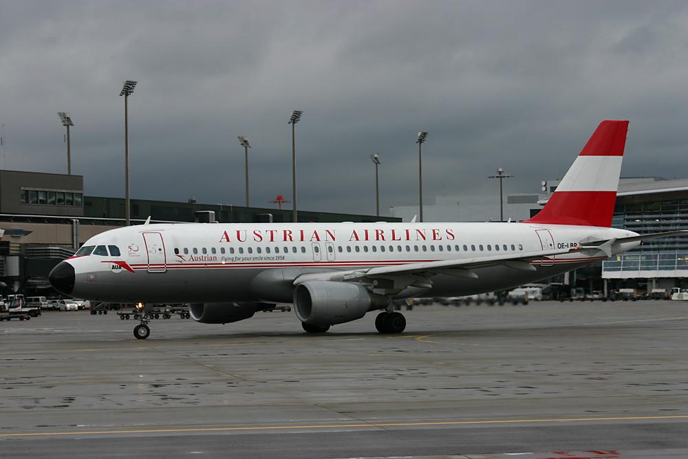 Austrian Airlines retro
