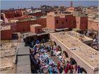 Auténtico mercadillo local (Marrakech Marruecos)
