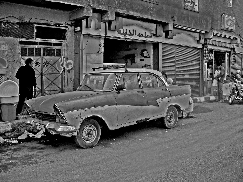 Auto aus vergangenen Tagen