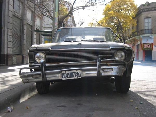 Auto in Buenos Aires
