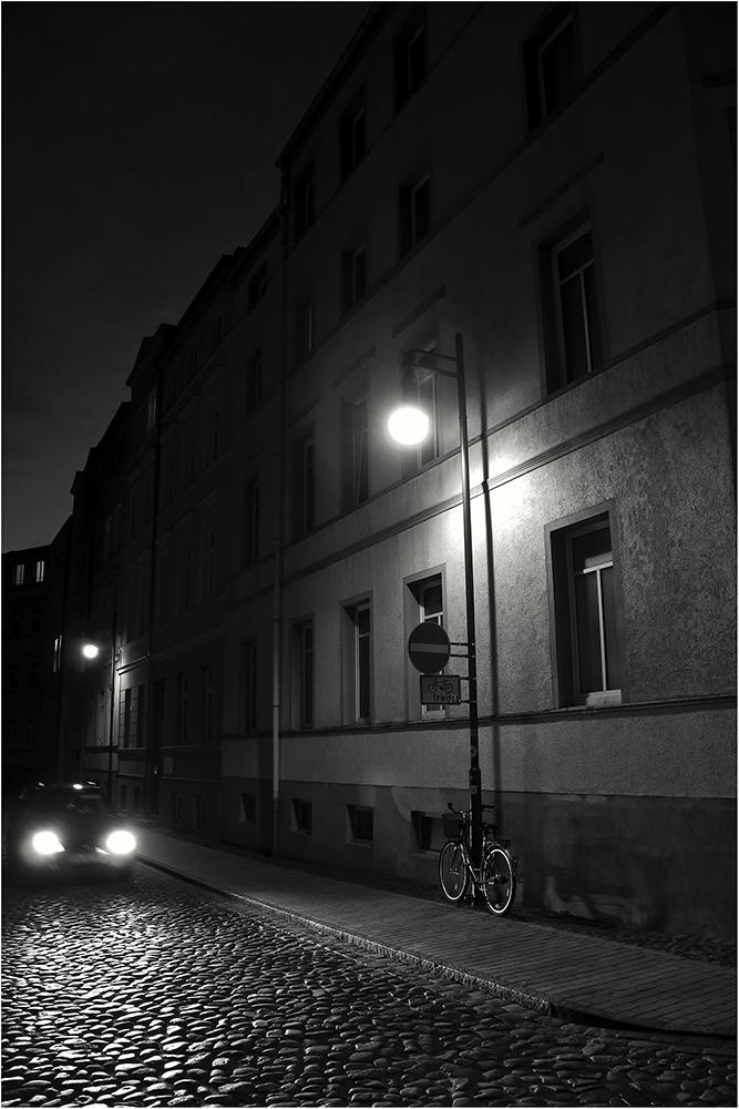 Auto - Lampen - Fahrrad