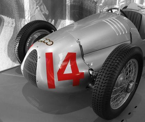 """Auto Union """"14"""" - der andere Silberpfeil"""