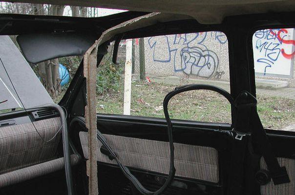 Auto von innen