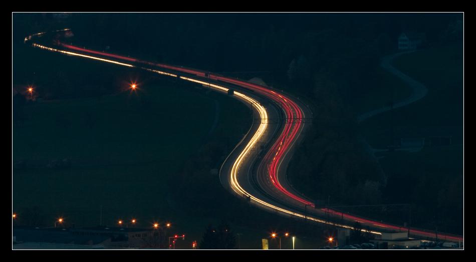 Autobahn A1 by N8