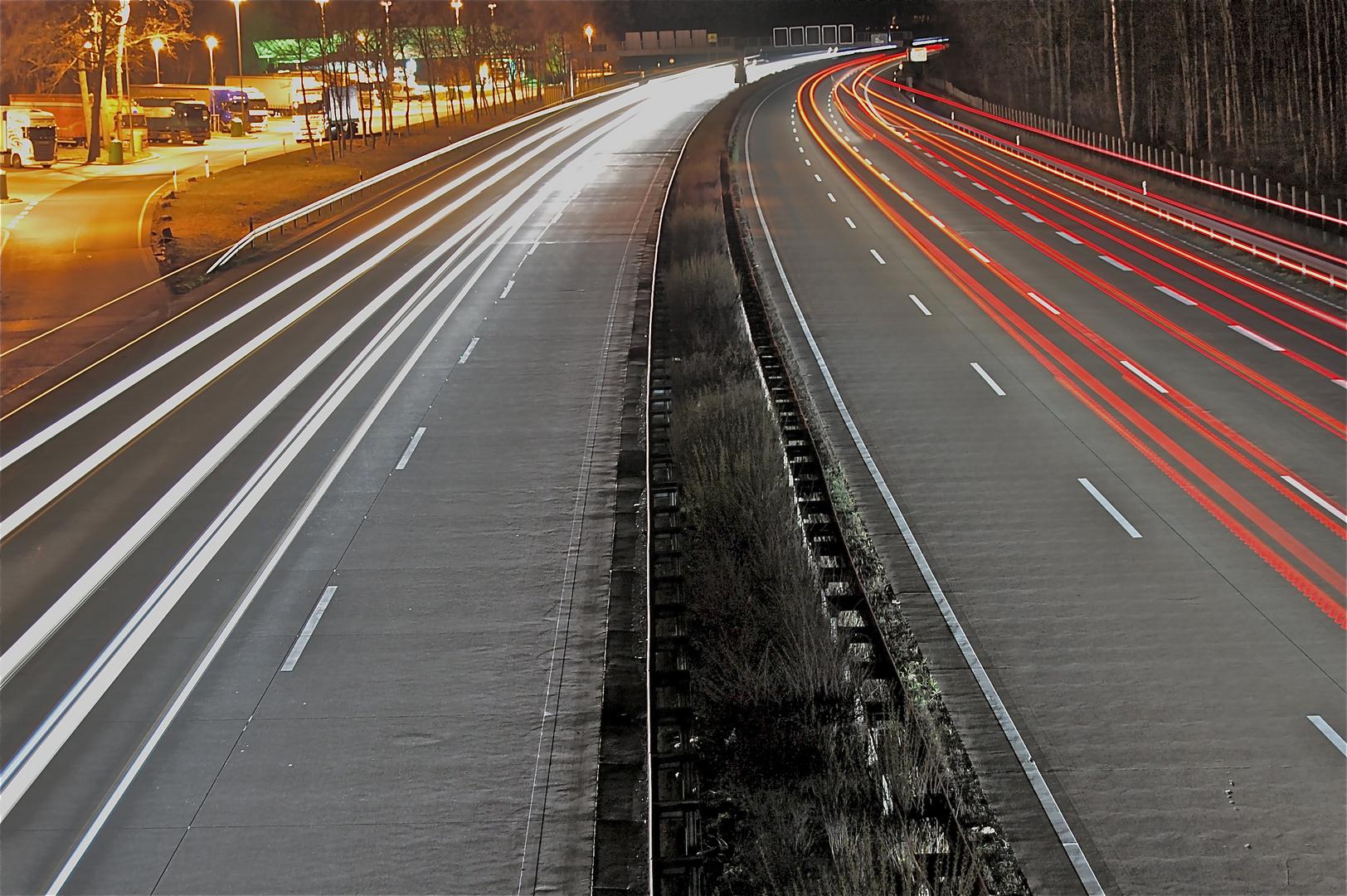 Autobahn A7 Hannover-Wülfel
