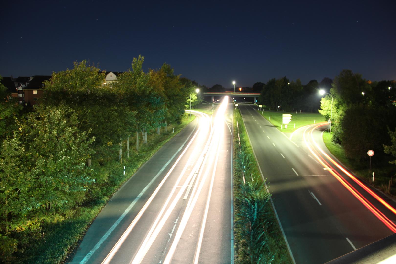 Autobahn bei Nach