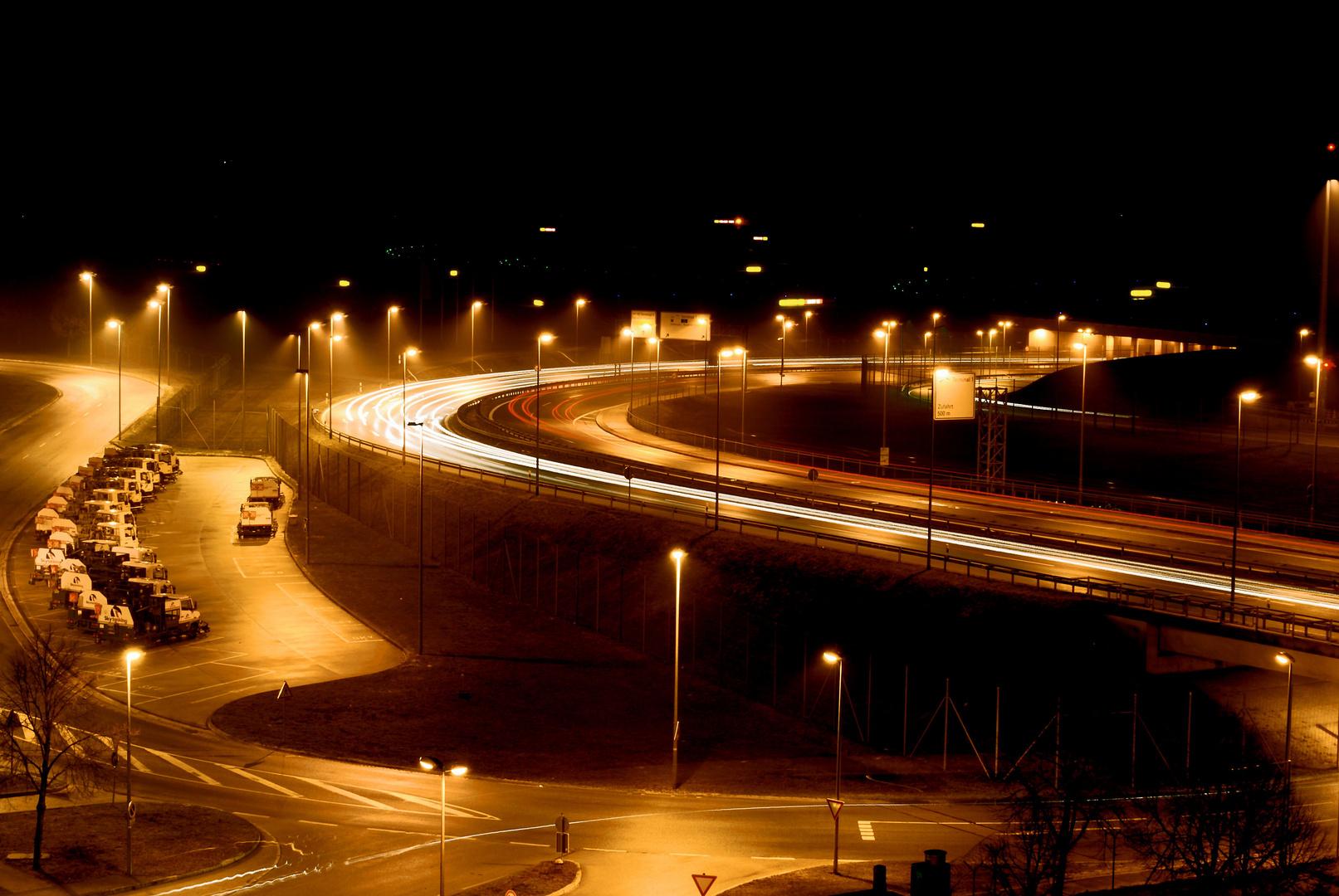 Autobahn II Munich Airport