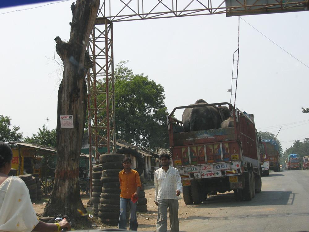 Autobahn in Indien