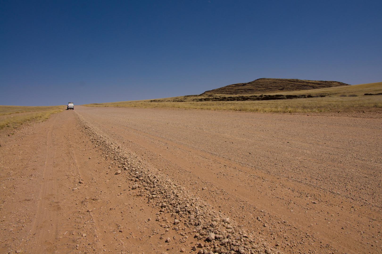 Autobahn in Namibia