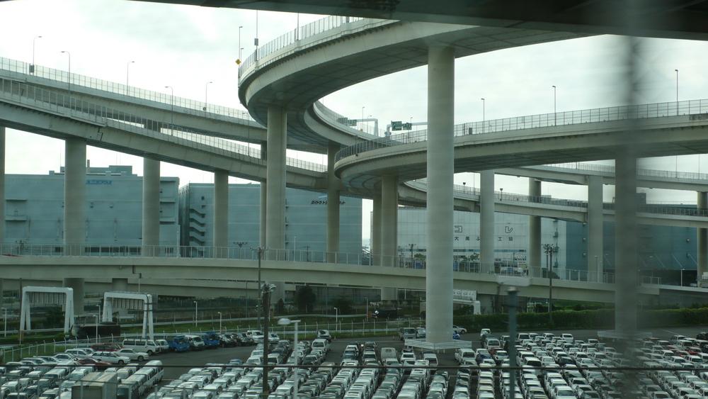 Autobahn südlich von Tokyo