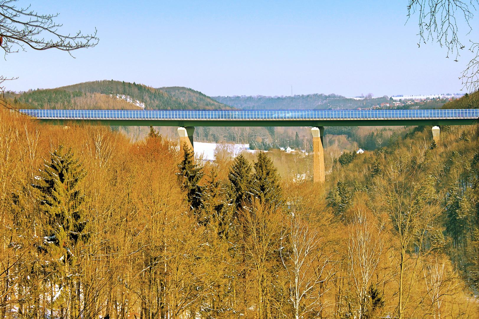 Autobahnbrücke A4 Siebenlehn