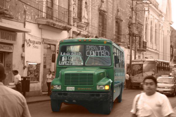 autobus en merida (mexico)