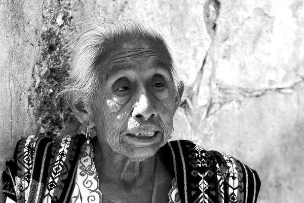 Autochtone de Chichen Itza (Mexique)