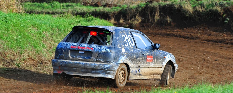 Autocross Frohburg 2013 - Wenn sich der Reifen davonmacht