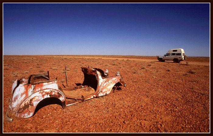 Autofahren im Outback