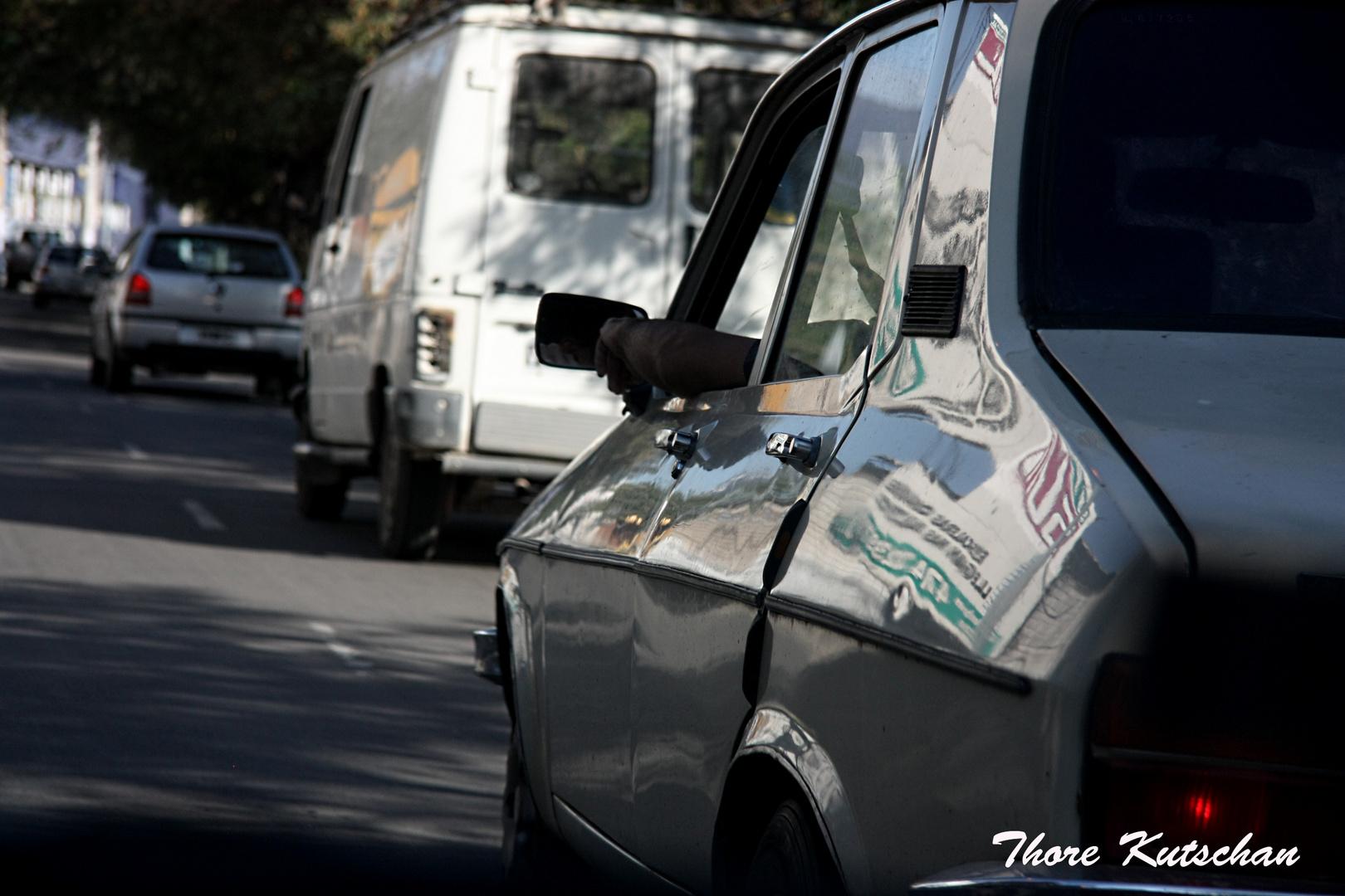 Autofahrt in Argeninien