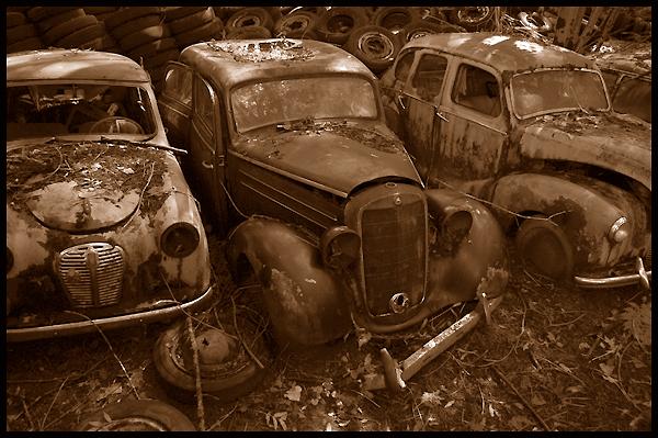 Autofriedhof Grübetal - Schweiz -