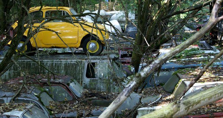Autofriedhof Kaufdorf 03