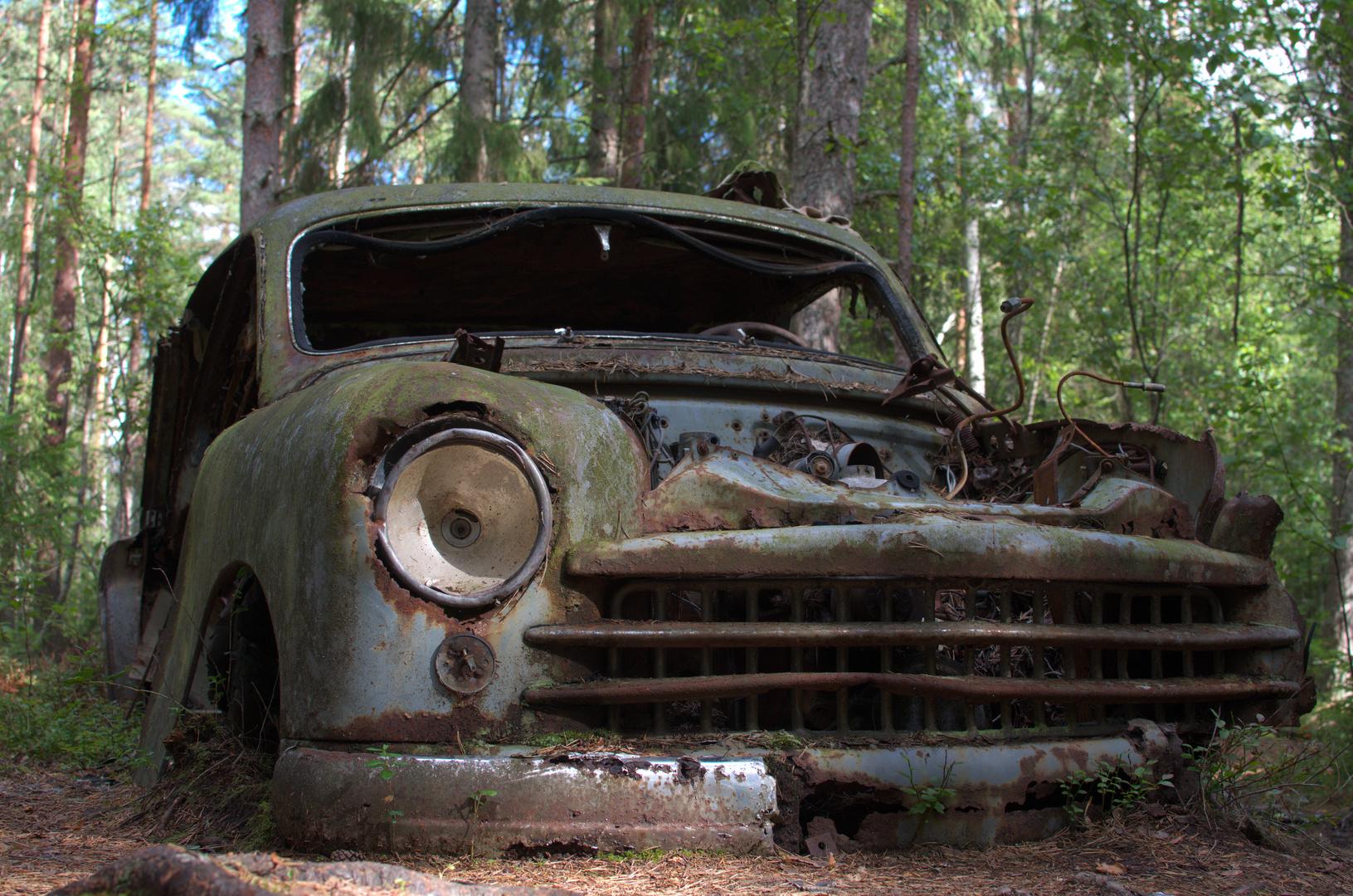 Autofriedhof Schweden 2