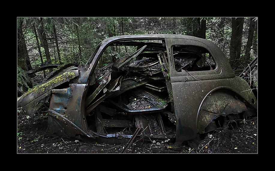 Autofriedhof Schweden NR 4