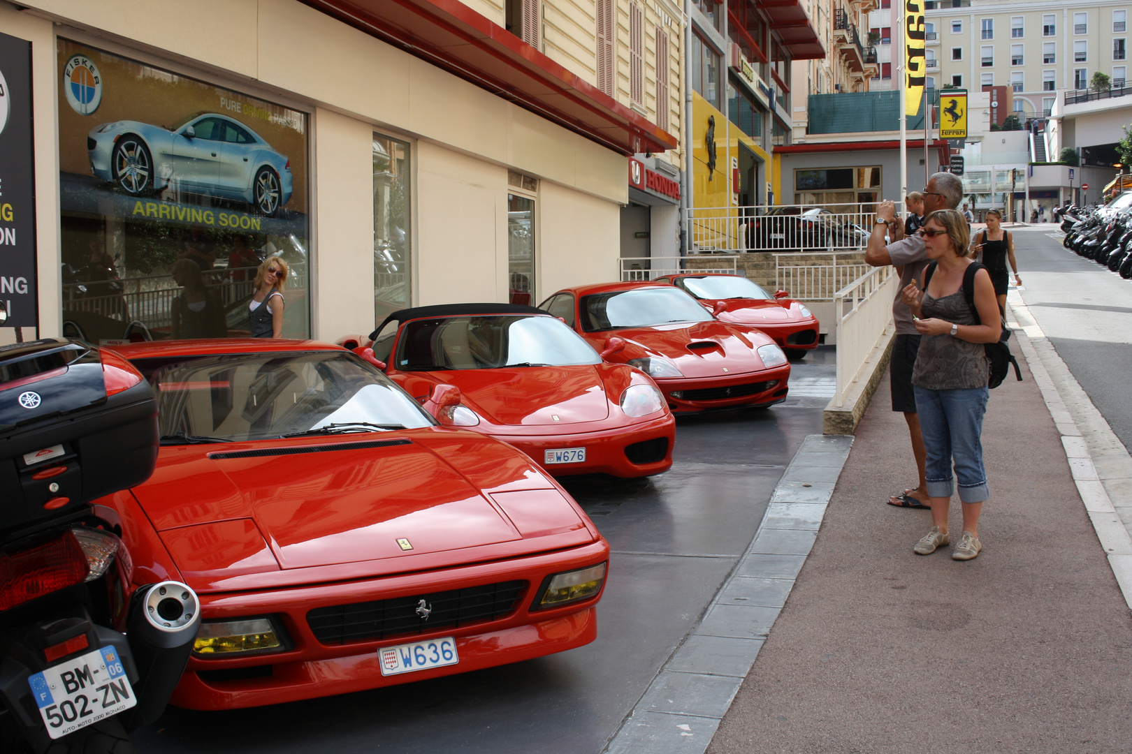 Autohaus in Monte Carlo ;)
