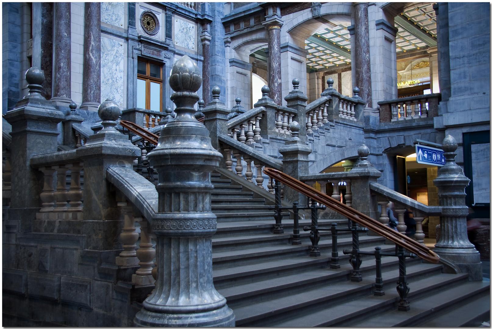 Automne à Anvers V Exhibition de marbres