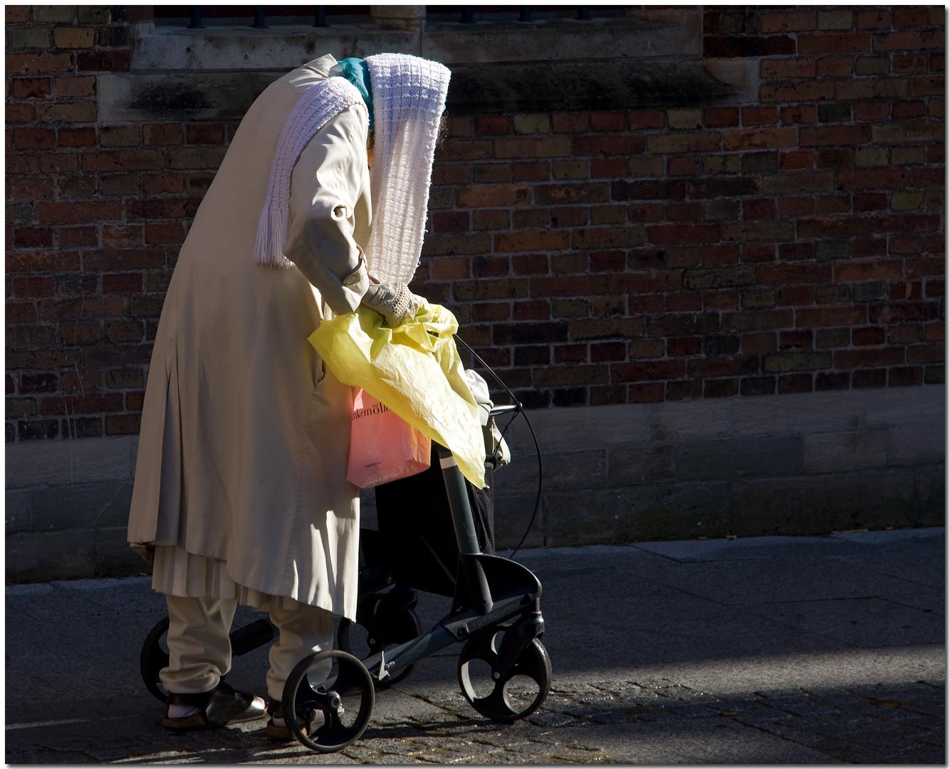 Automne à Bruges II Promenade dominicale