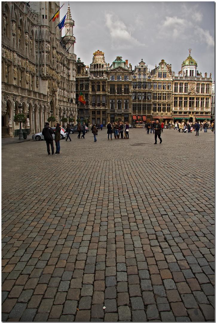 Automne à Bruxelles XXIV La Grand Place - n'importe quel coin