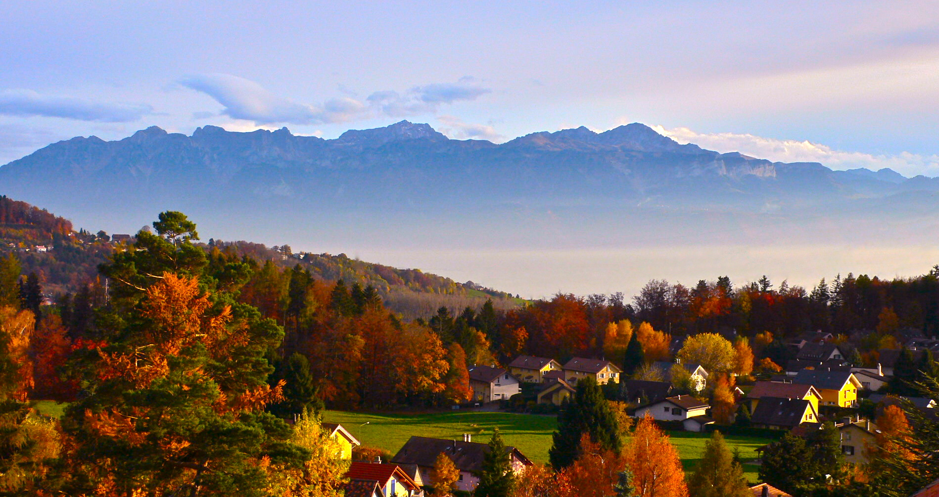 automne suisse photo et image paysages paysages de campagne nature images fotocommunity. Black Bedroom Furniture Sets. Home Design Ideas